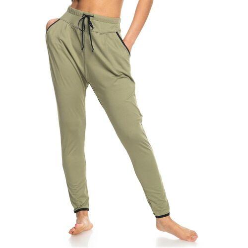 Roxy Yogahose Love Aint Enough M, US-Größen braun Damen Yogahosen Yogawear Damenwäsche