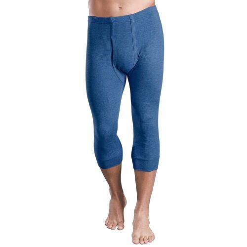 Lange Unterhose, (2 St.) 9, 2 St. blau Herren Unterhose Strings Unterhosen Herrenwäsche