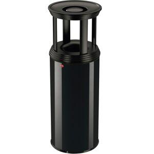 Hailo Aschenbecher ProfiLine Combi plus XL, 45 Liter H: 92 cm, l schwarz