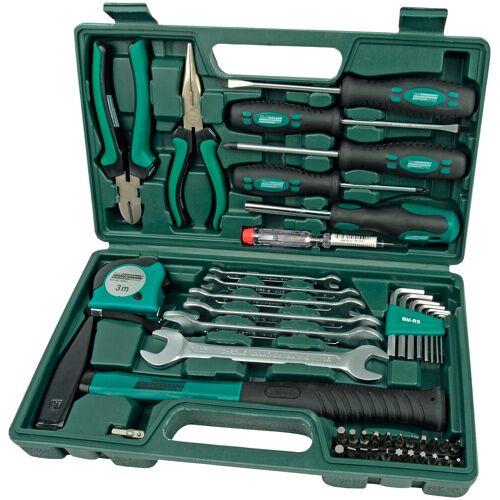 Brüder Mannesmann Werkzeuge Werkzeugset, (Set, 47 St.) Einheitsgröße grün Werkzeugset Werkzeugkoffer Werkzeug Maschinen