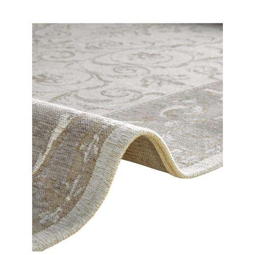 heine home Teppich, rechteckig, 3 mm Höhe B/L: 60 cm x 100 cm, 1 St. grau Teppich Baumwollteppiche Naturteppiche Teppiche