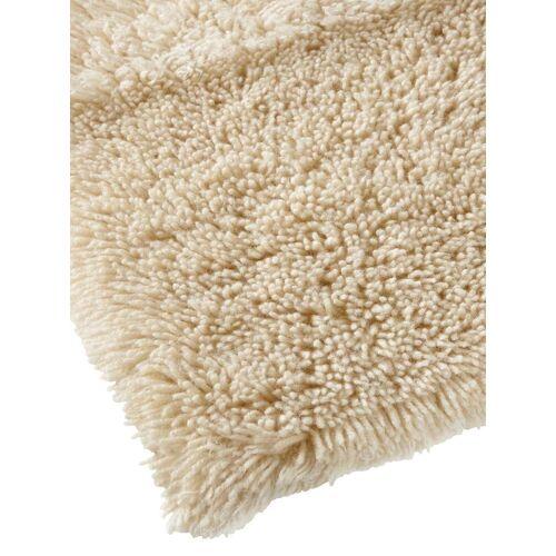 heine home Teppich, rechteckig, 70 mm Höhe B/L: 60 cm x 90 cm, 1 St. beige Teppich Schurwollteppiche Naturteppiche Teppiche