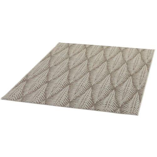 Schneider Outdoorteppich Juna, rechteckig, 5 mm Höhe 1 St. braun Outdoor-Teppiche Teppiche