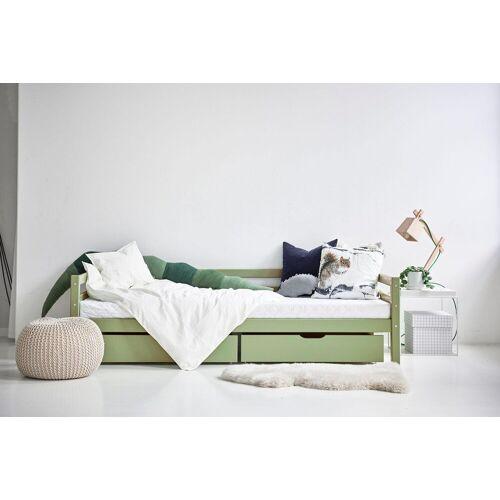 Hoppekids Bettschubkasten, (2-tlg.) B/H/T: 182 cm x 19 60 grün Kinder Bettschubkasten Kinderbetten Kindermöbel