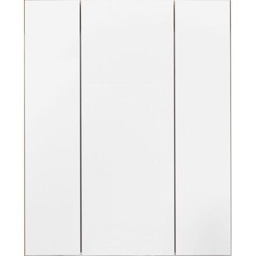 trendteam Spiegelschrank Tone, 3-Türig B/H/T: 60 cm x 71 18 cm, 3 beige Spiegelschränke Badmöbel Bad Sanitär