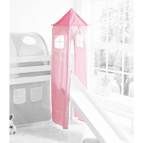 Ticaa Bettturm B/H/L: 45 cm x 190 rosa Kinder Kinderbetten Kindermöbel