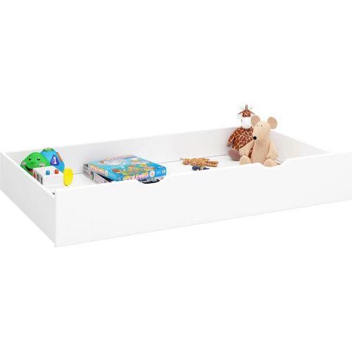 STEENS Bettschubkasten Alba B/H/T: 133 cm x 21 81 weiß Kinder Kinderbetten Kindermöbel