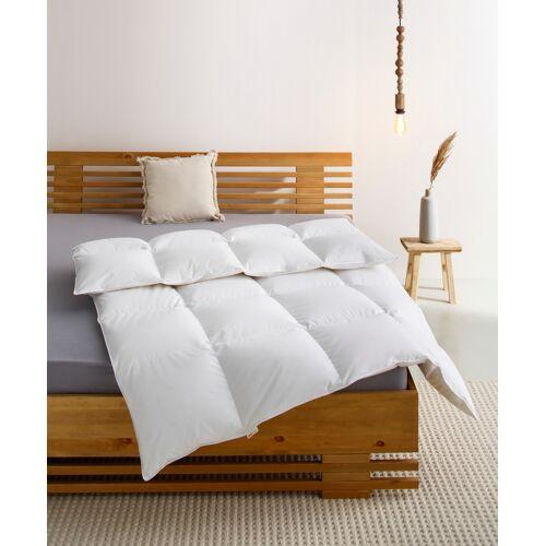 OTTO products Daunenbettdecke Charleen, warm, (1 St.) B/L: 155 cm x 220 cm, warm weiß Allergiker Bettdecke Bettdecken Bettdecken, Kopfkissen Unterbetten