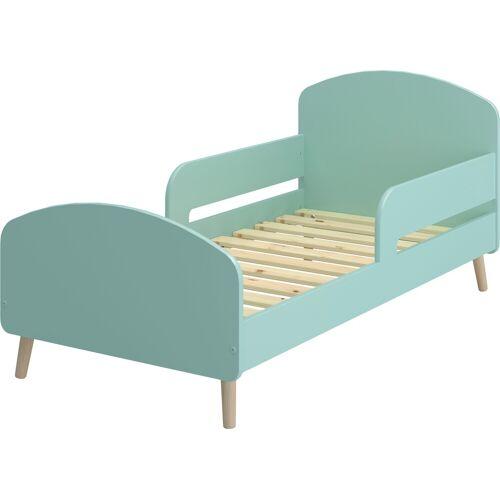 STEENS Kinderbett GAIA Liegefläche B/L: 70 cm x 140 Höhe: 78,3 cm, kein Härtegrad grün Kinder Kinderbetten Kindermöbel