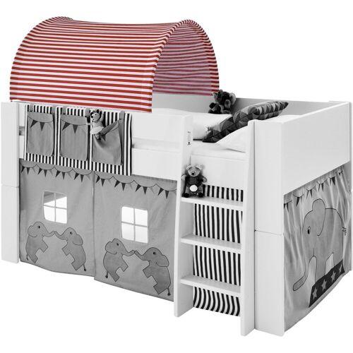 STEENS Betttunnel FOR KIDS, für die Hochbetten B/H/L: 88 cm x 69 92 rot Kinder Kinderbetten Kindermöbel