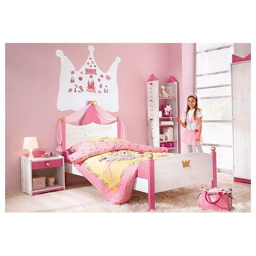 Silenta Kinderbett, Made in Germany Liegefläche B/L: 90 cm x 200 cm, kein Härtegrad rosa Kinder Kinderbett Kinderbetten Kindermöbel