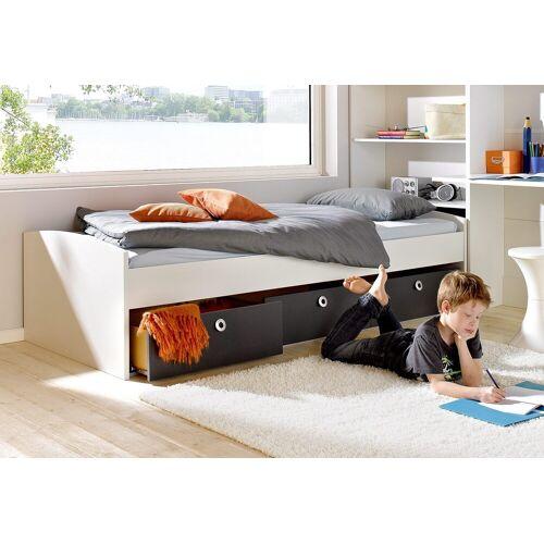 rauch BLUE Bettschubkasten, 3-teilig Einheitsgröße grau Kinder Bettschubkasten Kinderbetten Kindermöbel