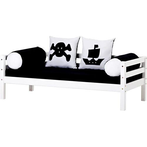 Hoppekids Piratenbett Pirat, inkl. Matratze und Rollrost Liegefläche B/L: 70 cm x 160 cm, kein Härtegrad weiß Kinder Kinderbetten Kindermöbel