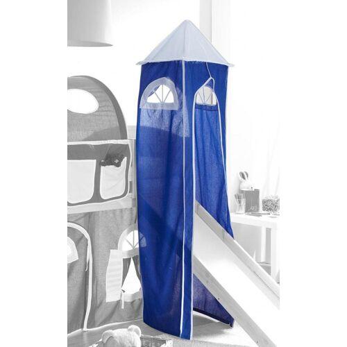 Ticaa Bettturm B/H/L: 45 cm x 190 blau Kinder Kinderbetten Kindermöbel