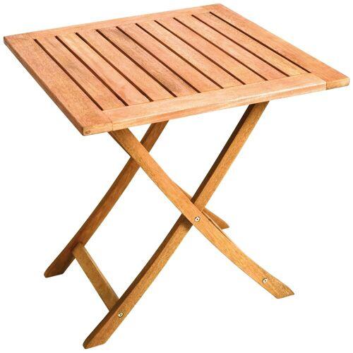 MERXX Gartentisch, 70x70 cm B/H/T: 70 x 74 beige Gartentisch Gartentische Gartenmöbel Gartendeko