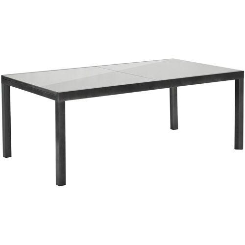 MERXX Gartentisch, 110x300 cm B/H/T: 110 x 76 300 grau Gartentisch Gartentische Gartenmöbel Gartendeko