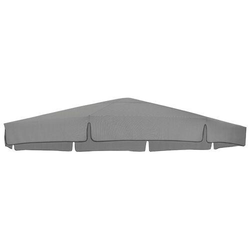sungarden Ersatzschirmbespannung, Ø 350 cm, rund Einheitsgröße grau Ersatzschirmbespannung Sonnenschirme -segel Gartenmöbel Gartendeko