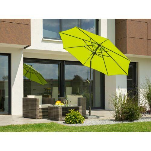 Schneider Schirme Sonnenschirm Harlem, ohne Schirmständer Einheitsgröße grün Sonnenschirme -segel Gartenmöbel Gartendeko