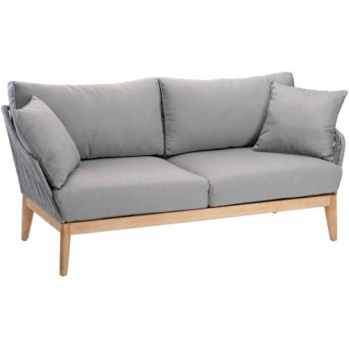 Best Loungesofa Samos B/H/T: 178 cm x 80 77 grau Lounge-Gartenmöbel Gartenmöbel Gartendeko