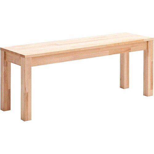 MCA living Sitzbank, Breite 125 cm B: beige Sitzbank Holzbänke Sitzbänke Stühle
