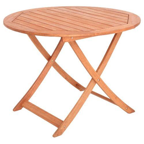 MERXX Gartentisch, 90x46 cm B/H/T: 100 x 75 beige Gartentisch Gartentische Gartenmöbel Gartendeko