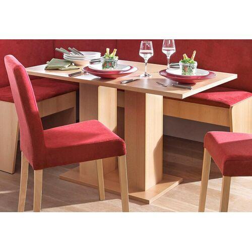 my home Säulen-Esstisch, Breite 68 oder 110 cm B/H/T: x 75 beige Säulen-Esstisch Säulentische Esstische Tische