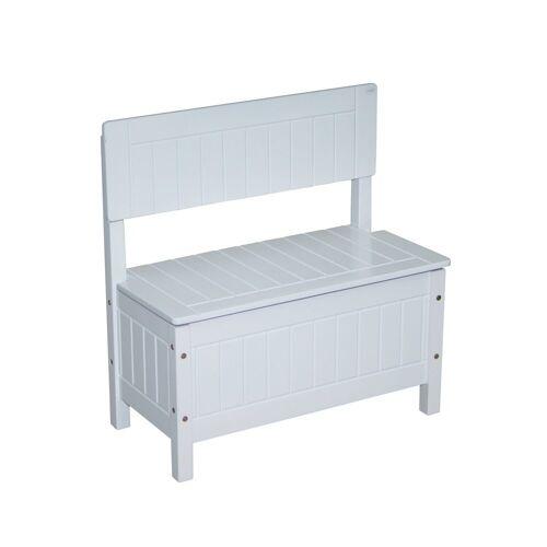 roba Truhenbank Kindertruhenbank, weiß B/H/T: 57 cm x 59 29 Kinder Kinderstühle Kindermöbel