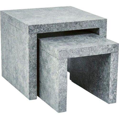 Paroli Beistelltisch, (Set) B/H/T: 45 cm x 41 gelb Beistelltisch Beistelltische Tische
