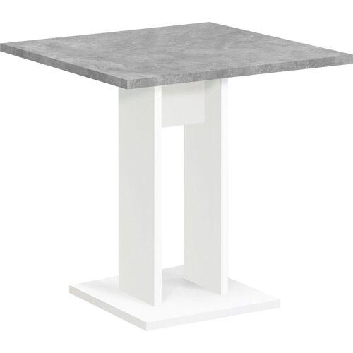 FMD Esstisch, Breite 70 cm B/H/T: x 77,5 grau Esstisch Esstische rechteckig Tische