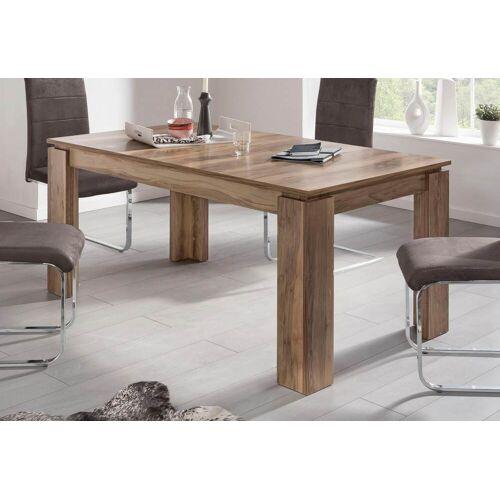 trendteam Esstisch, Länge 160-200cm B/H/T: 160 cm x 77 90 braun Esstisch Ausziehbare Esstische Tische