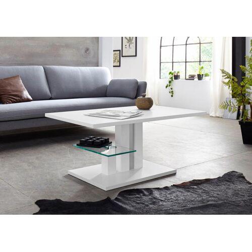 PRO Line Couchtisch Bergamo, höhenverstellbar mit Lift B/H/T: 108 cm x 50 68 weiß Höhenverstellbare Couchtische Tische
