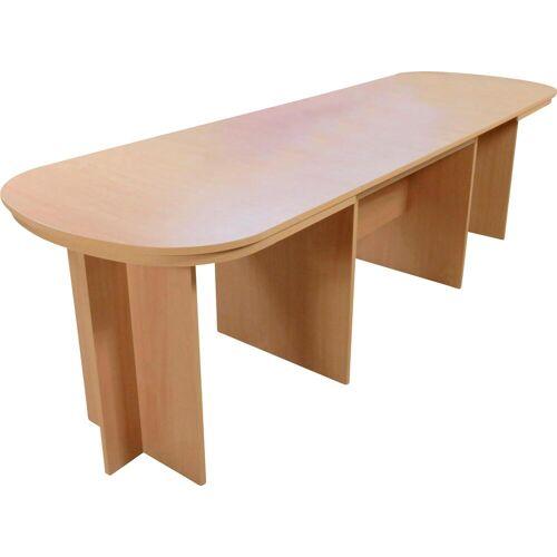 Kulissentisch Passau Einheitsgröße braun Esstische rund oval Tische