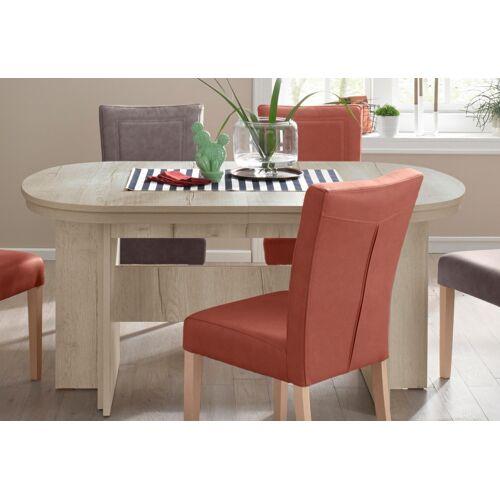 my home Kulissen-Esstisch Maxim, Breite 160-320 cm B/H/T: 160 x 75,5 92 cm, Ansteckplatten beige Ausziehbare Esstische Tische
