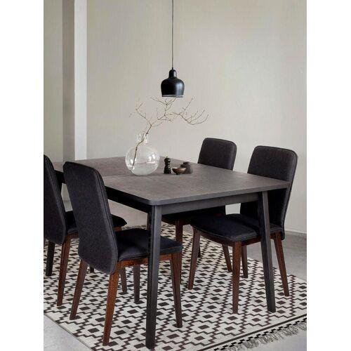 Woodman Esstisch, Breite 140 cm B/H/T: 90 x 75 schwarz Esstisch Tische