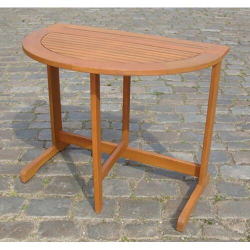 MERXX Gartentisch, 90x60 cm B/H/T: 90 x 74 60 beige Gartentisch Gartentische Gartenmöbel Gartendeko