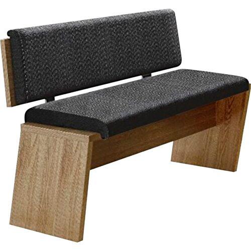 Innostyle Essbank, inkl. Sitzkissen T: 54 cm grau Essbank Essbänke Sitzbänke Stühle