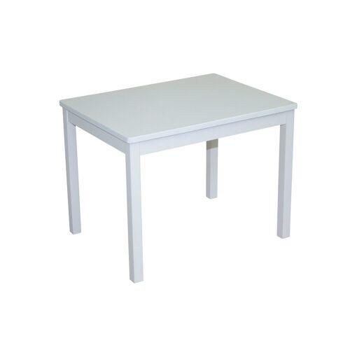 roba Kindertisch Kindertisch, weiß, für Kinder B/H/T: 50 cm x 51 66 weiß Kindertische Kindermöbel
