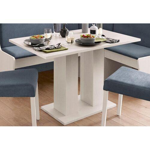 my home Säulen-Esstisch, Breite 68 oder 110 cm B/H/T: x 75 weiß Säulen-Esstisch Säulentische Esstische Tische