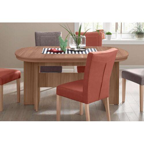 my home Kulissen-Esstisch Maxim, Breite 160-320 cm B/H/T: 160 x 75,5 92 cm, Ansteckplatten braun Ausziehbare Esstische Tische