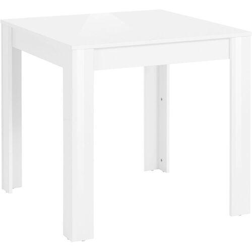 my home Esstisch Lynn, Breite 80 oder 120 cm B/H/T: x 75 weiß Esstische quadratisch Tische