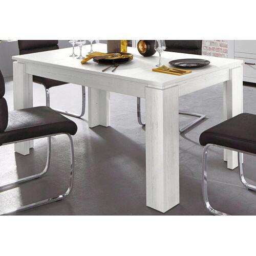 trendteam Esstisch, Länge 160-200cm B/H/T: 160 cm x 77 90 beige Esstisch Ausziehbare Esstische Tische