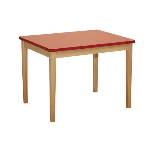 roba Kindertisch, für Kinder B/H/T: 51 cm x 50 68 rot Kindertisch Kindertische Kindermöbel