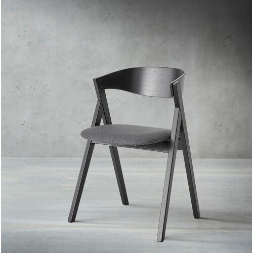 hammel Holzstuhl Findahl 2 St., Stoff schwarz Holzstühle Stühle Sitzbänke