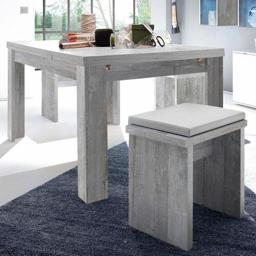 Mäusbacher Esstisch, ausziehbar, Breite 160-260 cm B/H/T: 160 x 75,5 90 grau Esstisch Ausziehbare Esstische Tische