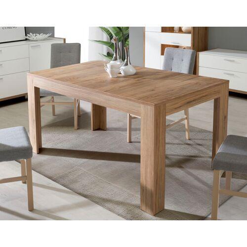 FORTE Esstisch, ausziehbar von 160 auf 206 cm B/H/T: 206,6 x 78,2 90 cm, Mittelauszug beige Esstisch Ausziehbare Esstische Tische