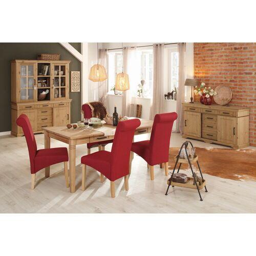 Home affaire Esstisch Anabel, aus massiver Kiefer B/H/T: 180 cm x 75 90 beige Holz-Esstische Holztische Tische