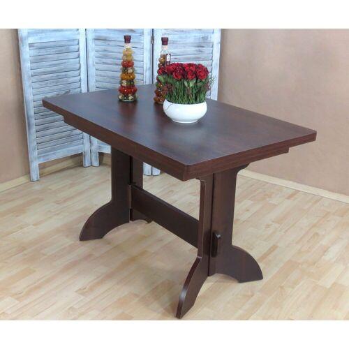 Esstisch Toledo, ausziehbar auf 170 cm B/H/T: 110 x 75 70 cm, mit Auszug braun Ausziehbare Esstische Tische