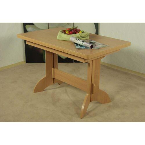 Esstisch Toledo, ausziehbar auf 170 cm B/H/T: 110 x 75 70 cm, mit Auszug beige Ausziehbare Esstische Tische