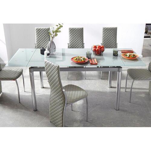 my home Esstisch B/H/T: 140 cm x 76 80 cm, Kulissenauszug grau Ausziehbare Esstische Tische