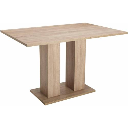 Esstisch Fontana, zeitloses Design B/H/T: 120 cm x 75 80 braun Esstische rechteckig Tische